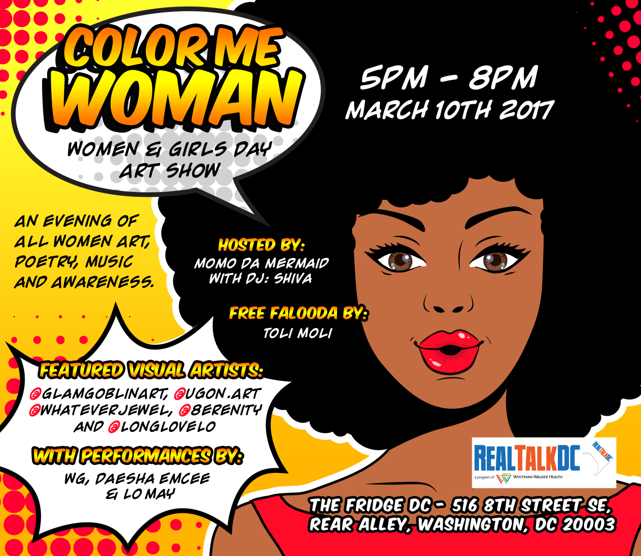 """Color Me Woman"" Art Show!"
