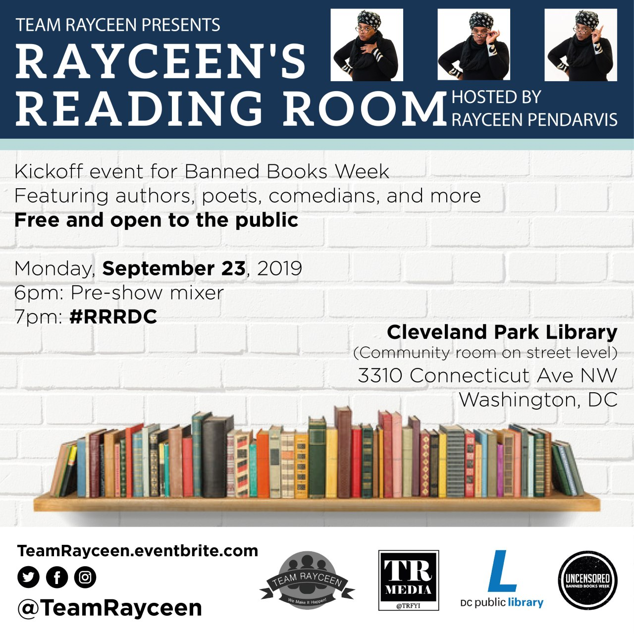 Dwayne Is At Rayceen's Reading Room!