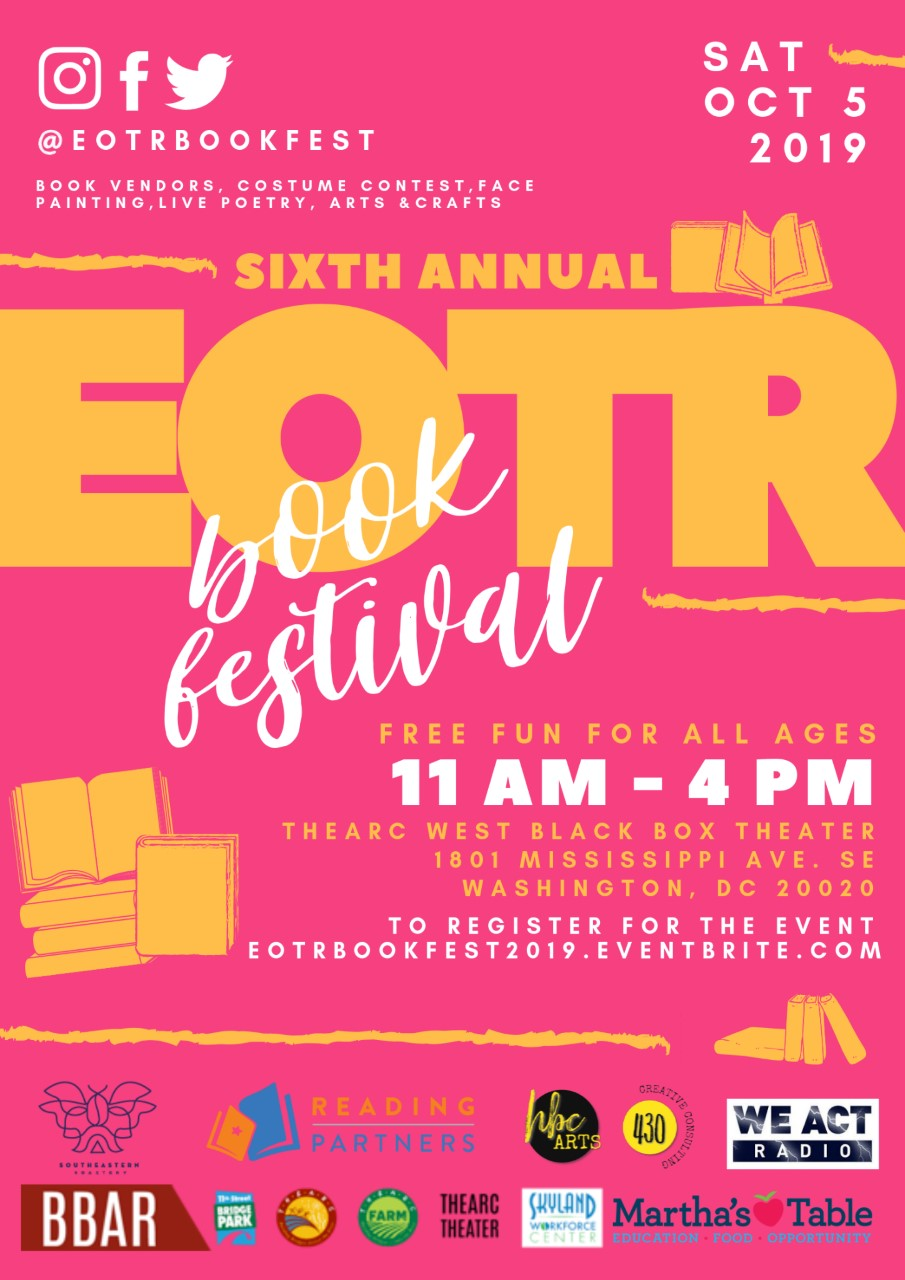 East of the River Book Fest Is This Saturday!